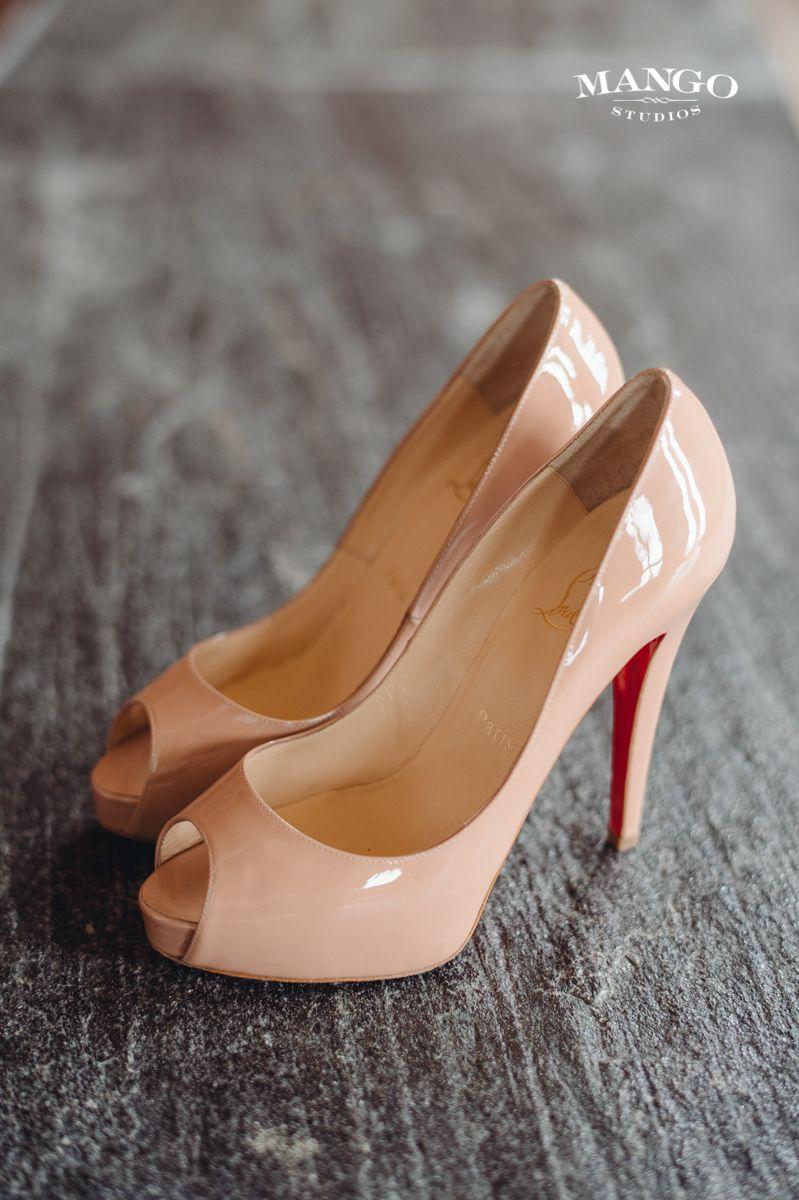 shoe #weddingday #bride #inspiration #weddingidea #heels #cream ...