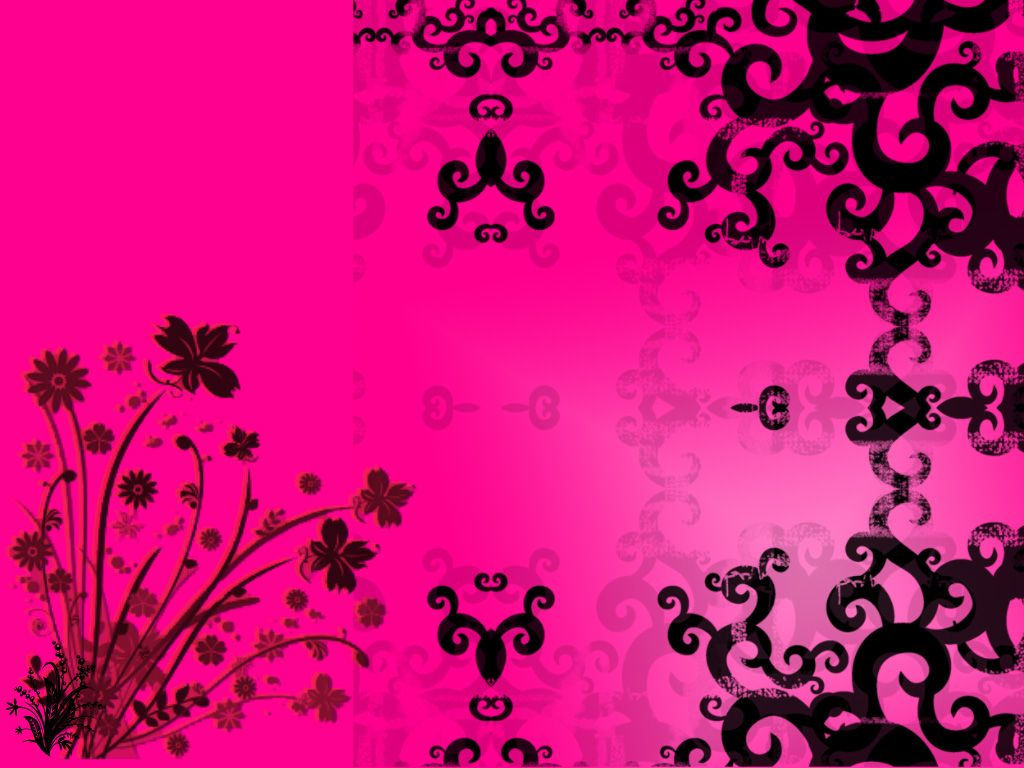 Cool Wallpaper Black And Pink Desktop Wallpapers Colorful Pinterest