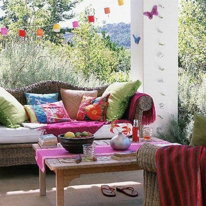 Mein Schöner Garten Rattan Lounge Möbel Und Lichter