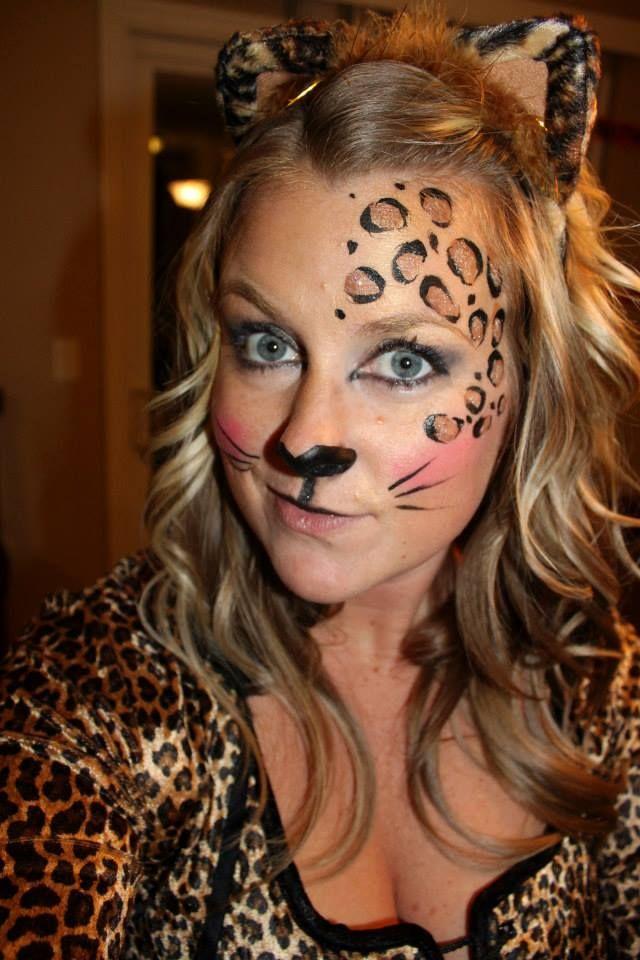 Halloween Cheetah Makeup | Tattoos | Pinterest | Halloween ...