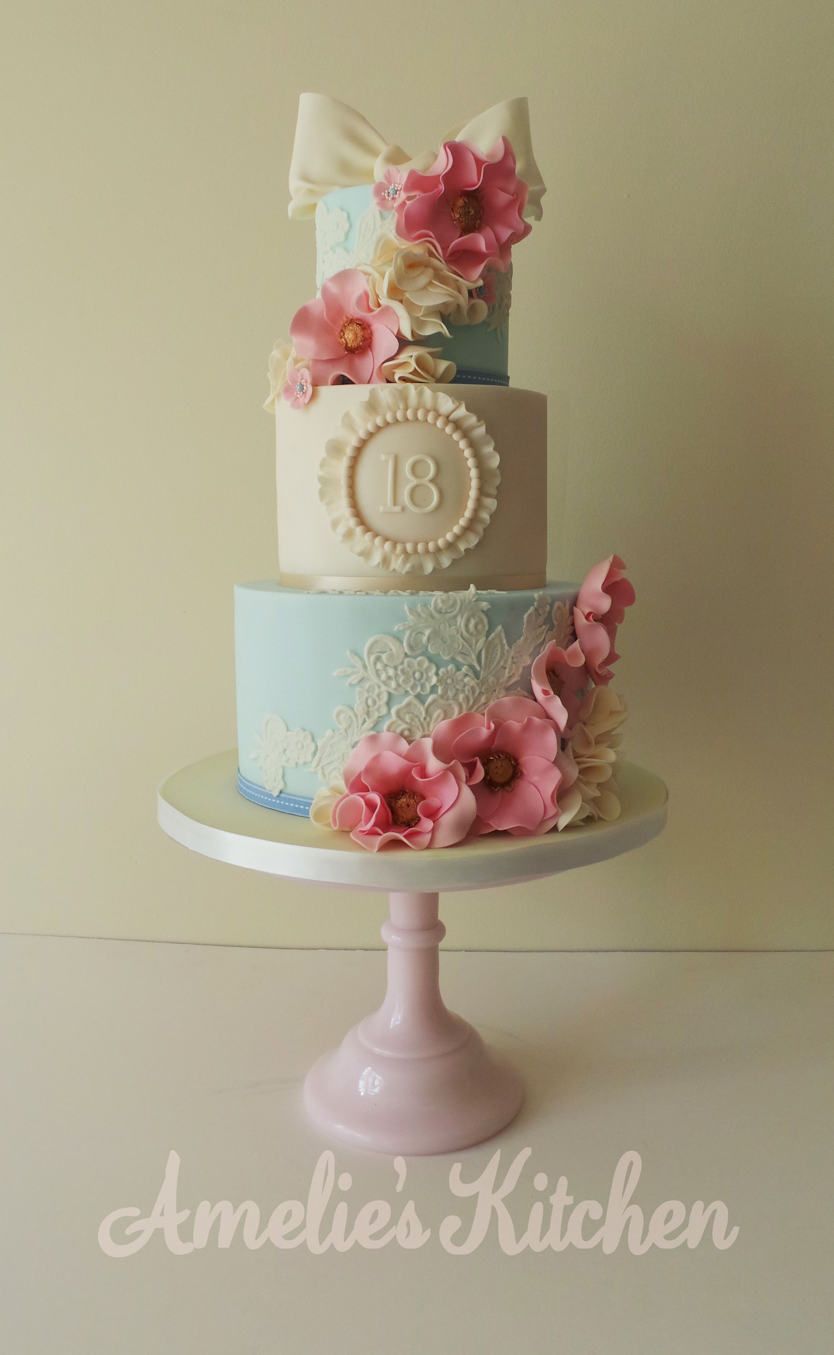 Vintage Birthday Cakes on Pinterest Flower Birthday ...