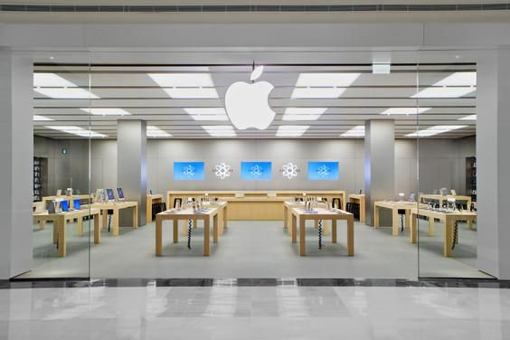 Thief Robs Apple Store Leaves Behind His Samsung Galaxy Phone Store Layout Storefront Design Store Architecture