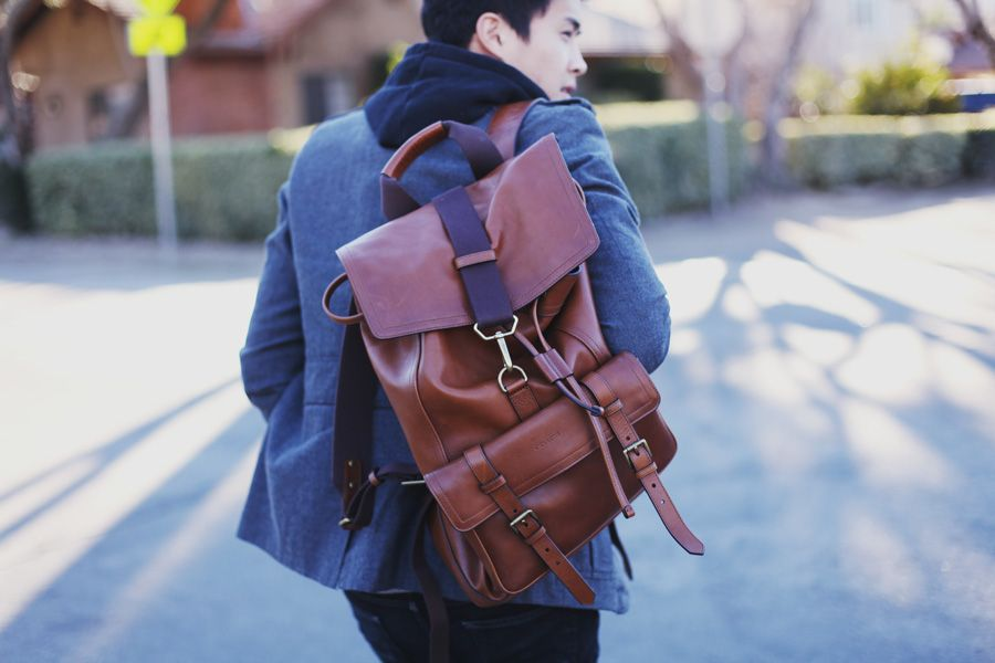 Bleecker Leather Backpack by Coach | His. | Pinterest | Leather ...