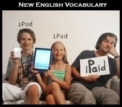 21st century English... LOL...