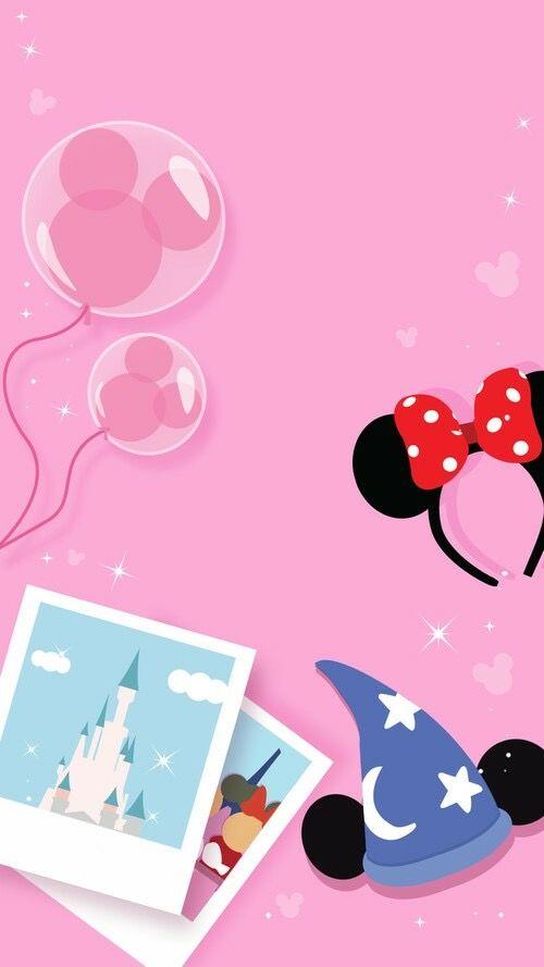 Disney World Wallpaper Disney Phone Wallpaper Pink Wallpaper Iphone Disneyland Iphone Wallpaper