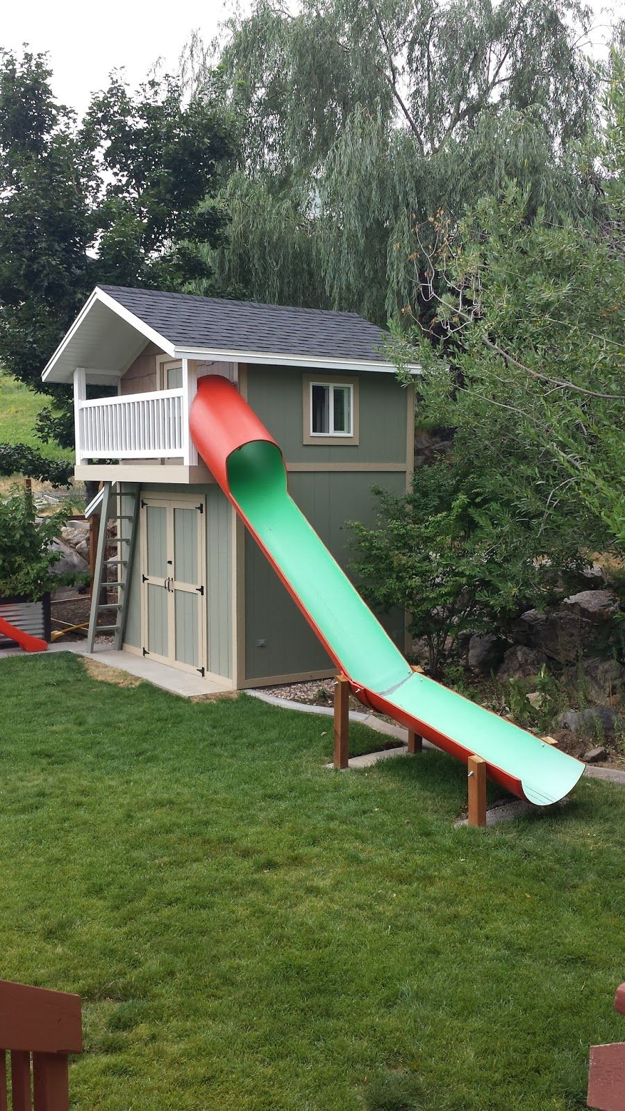 shed playhouse combo americafirstcu sharing is caring blog in rh pinterest com