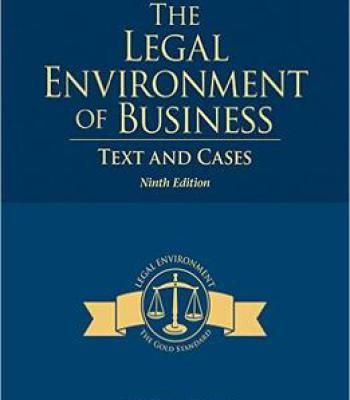 The legal environment of business text and cases 9th edition pdf the legal environment of business text and cases 9th edition pdf fandeluxe Gallery