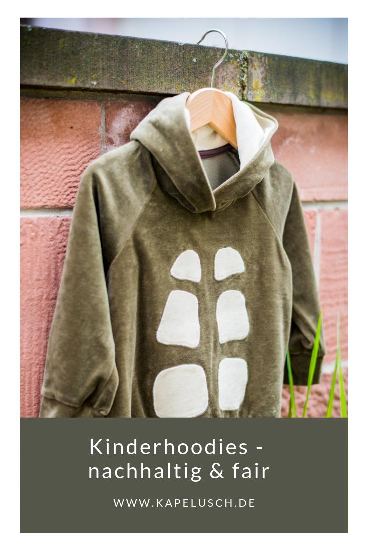 Rabatt-Verkauf berühmte Designermarke speziell für Schuh Ein Hoodie für coole Jungs. Aus Nickivelours genäht und ...