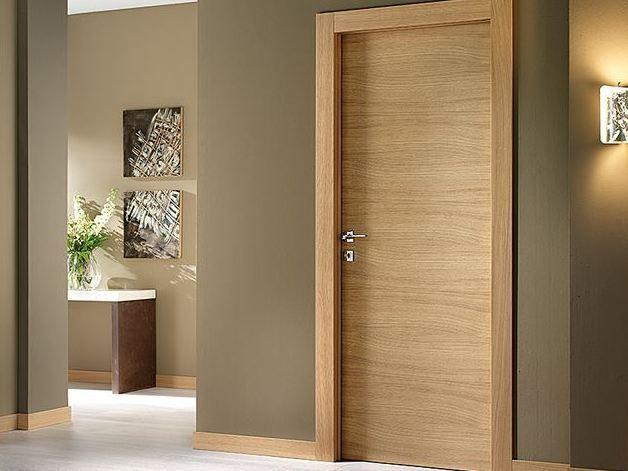 Puerta de madera VANILLA by BARAUSSE Puerta para baño Pinterest