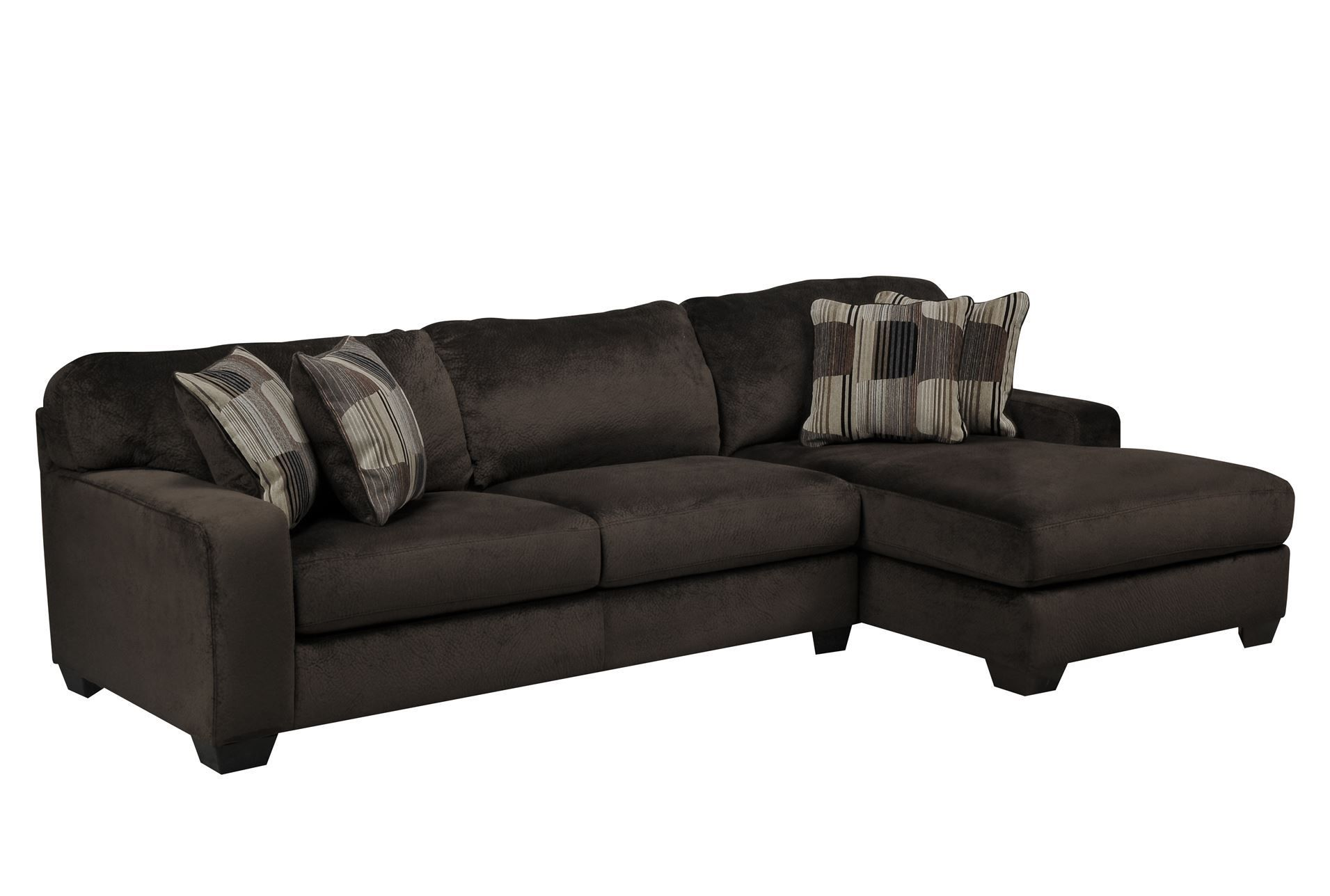 Westin Chocolate 2 Piece Sectional W/Raf Chaise | Recipes to Cook ...