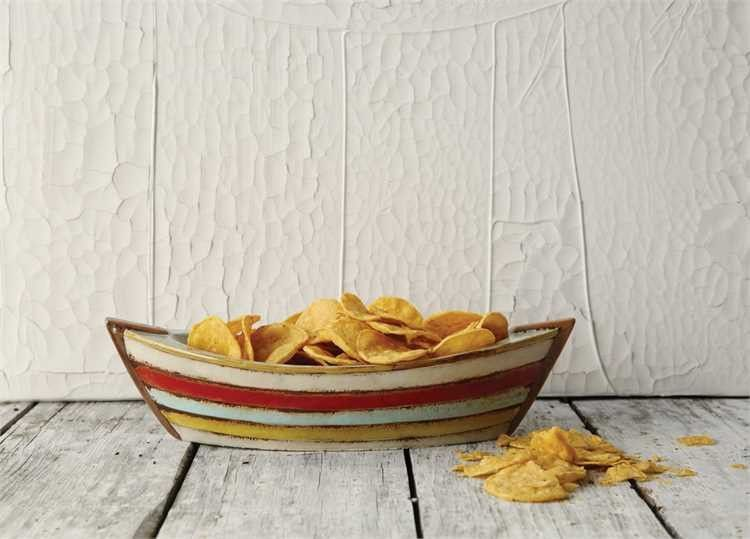 Ceramic Boat Shaped Bowl