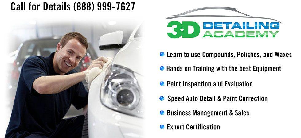 a Certified Auto Detailer! 3D Online Car Care