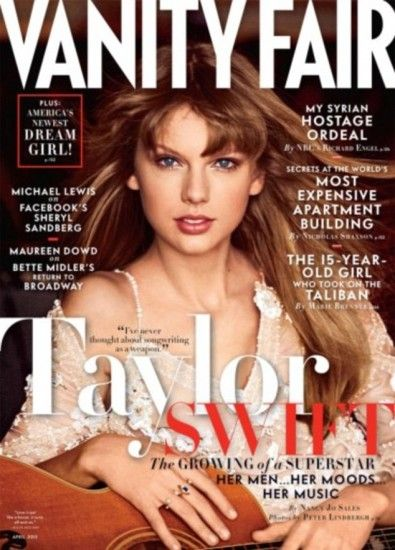 Taylor Swift da su versión sobre ruptura con Harry Styles a Vanity Fair