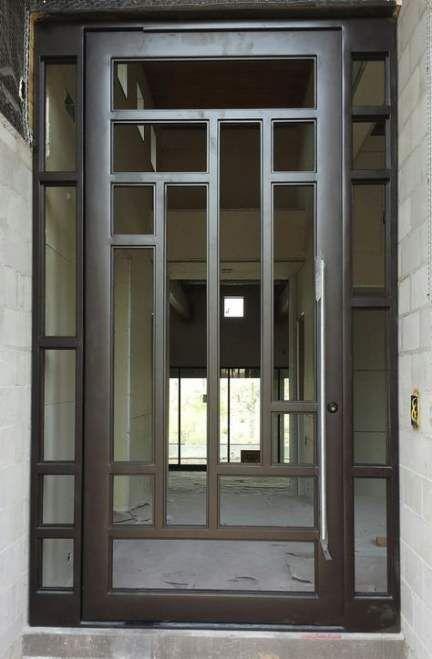 35 Trendy Double Front Door Modern Wrought Iron Di 2020