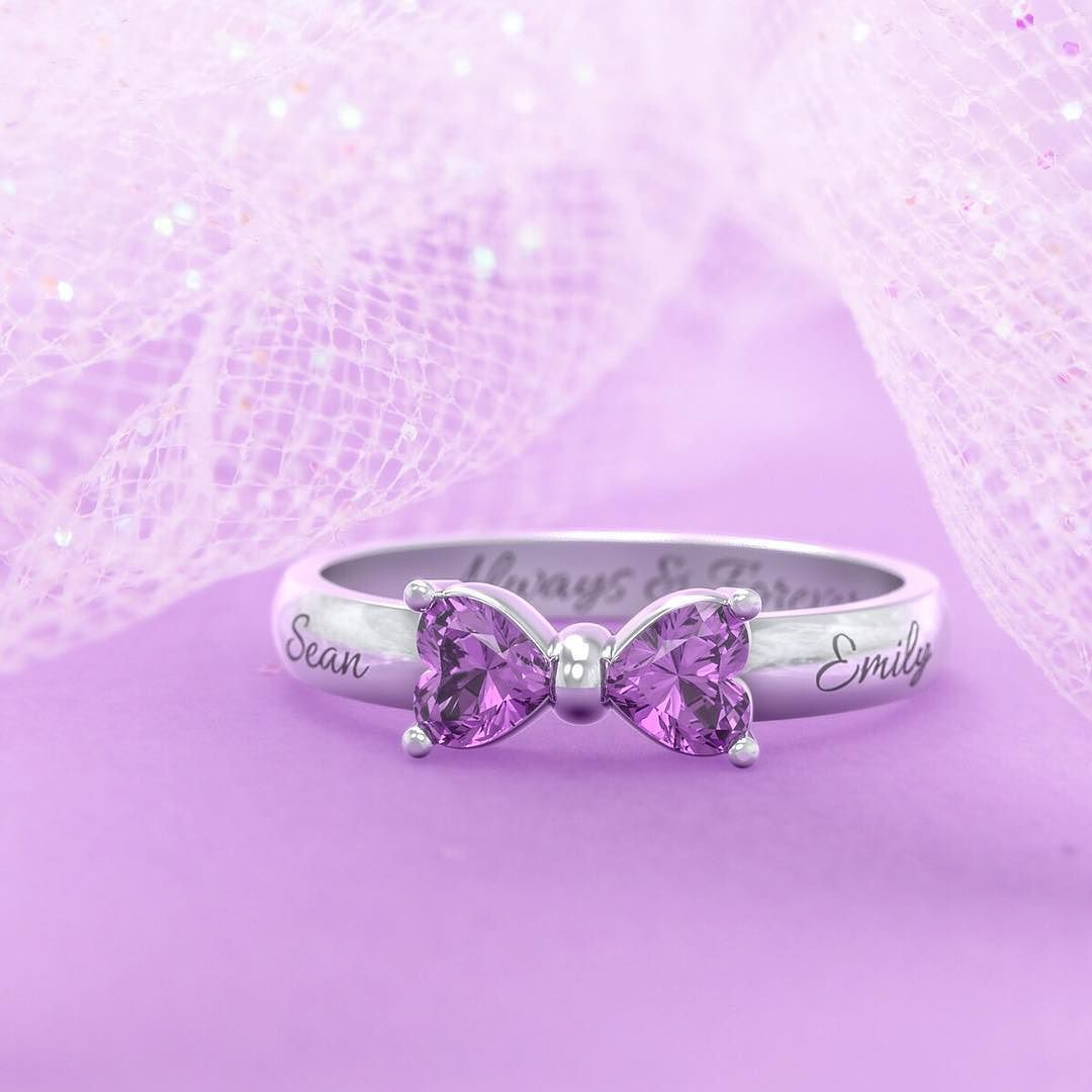 Our Adorable Bow ring can easily be transformed from a fashion ...