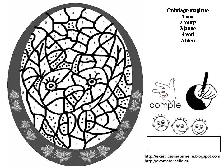 Un Coloriage Magique Qui Représente Une Poule Déguisée En Pomme
