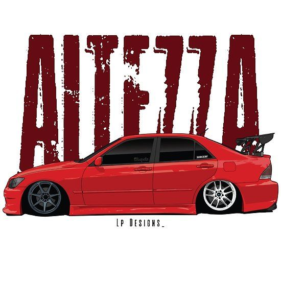 'Toyota Altezza / Lexus IS300' by lpdesigns1