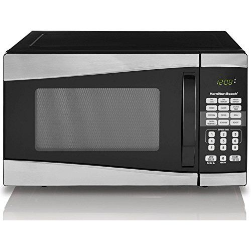 Hamilton Beach 09 Cu Ft 900w Microwaveby Product Hamilton Beach Black Find Out More About The Great Product At The Stainless Steel Microwave Microwave Oven
