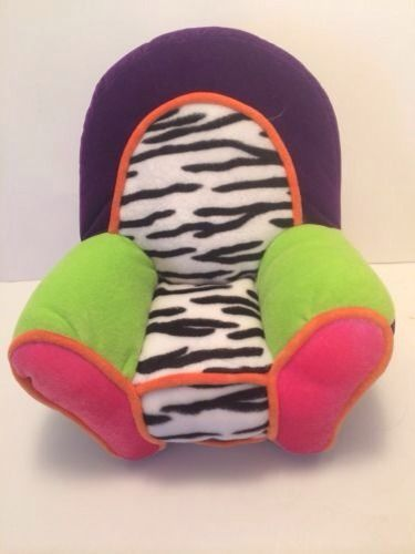 2000 Retired Groovy Girls Plush Chair Funky Purple ...