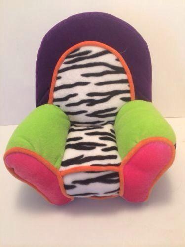 2000 Retired Groovy Girls Plush Chair Funky Purple ...