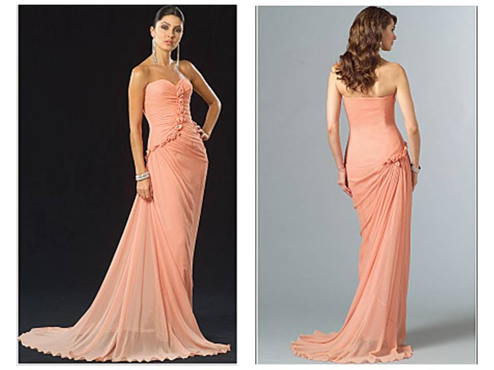The Impossible Prom Dress | Formal dress patterns, Patterned prom ...