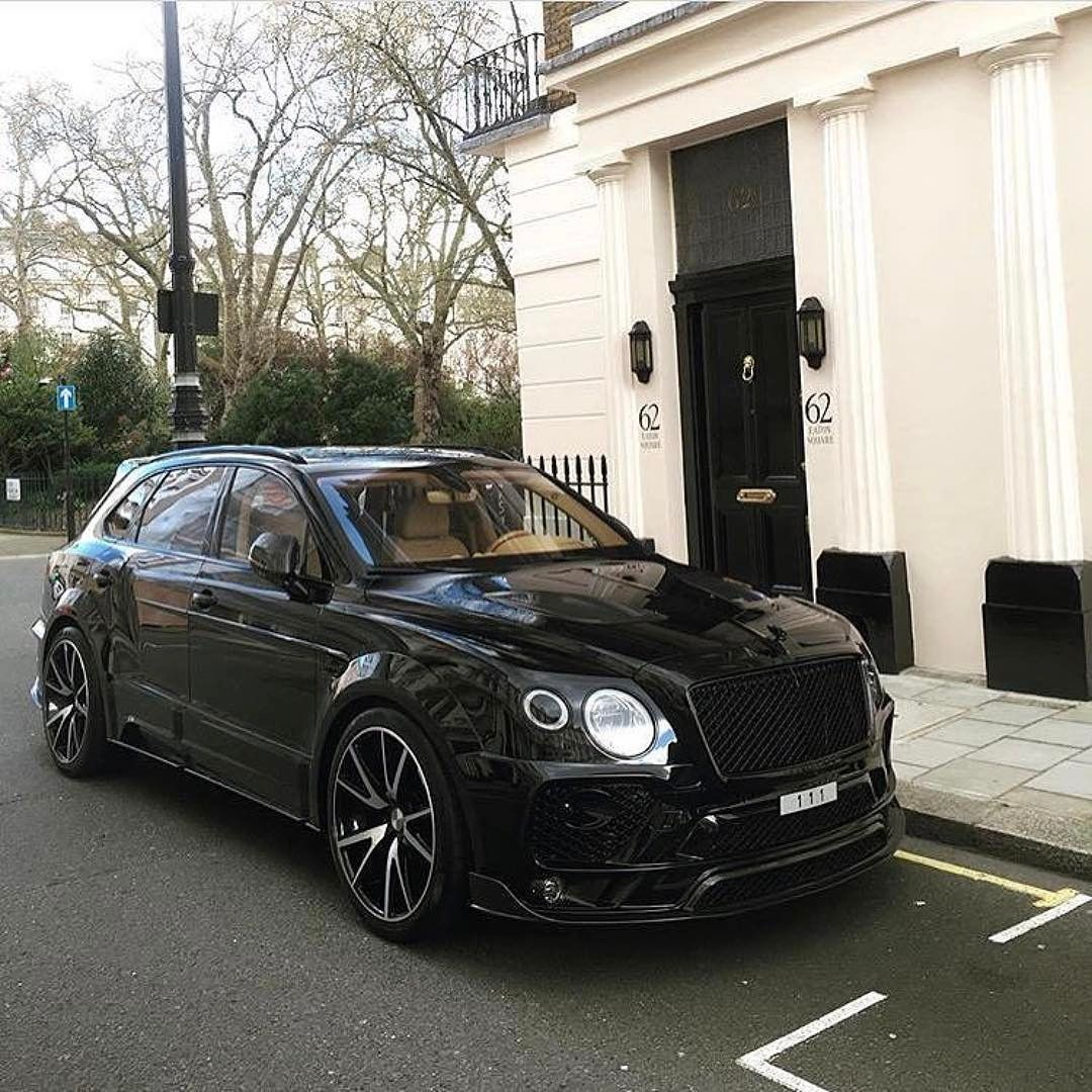 Wallpaper Bentley Continental Gt Black Edition 2017: Bentley Bentyga Mansory DUB Magazine (@dubmagazine) On