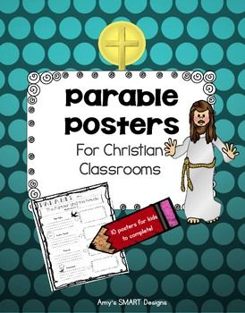 Parables Of Jesus Posters Parables Of Jesus Parables Bible Lessons For Kids
