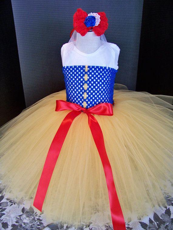 Snow White Tutu with matching headband