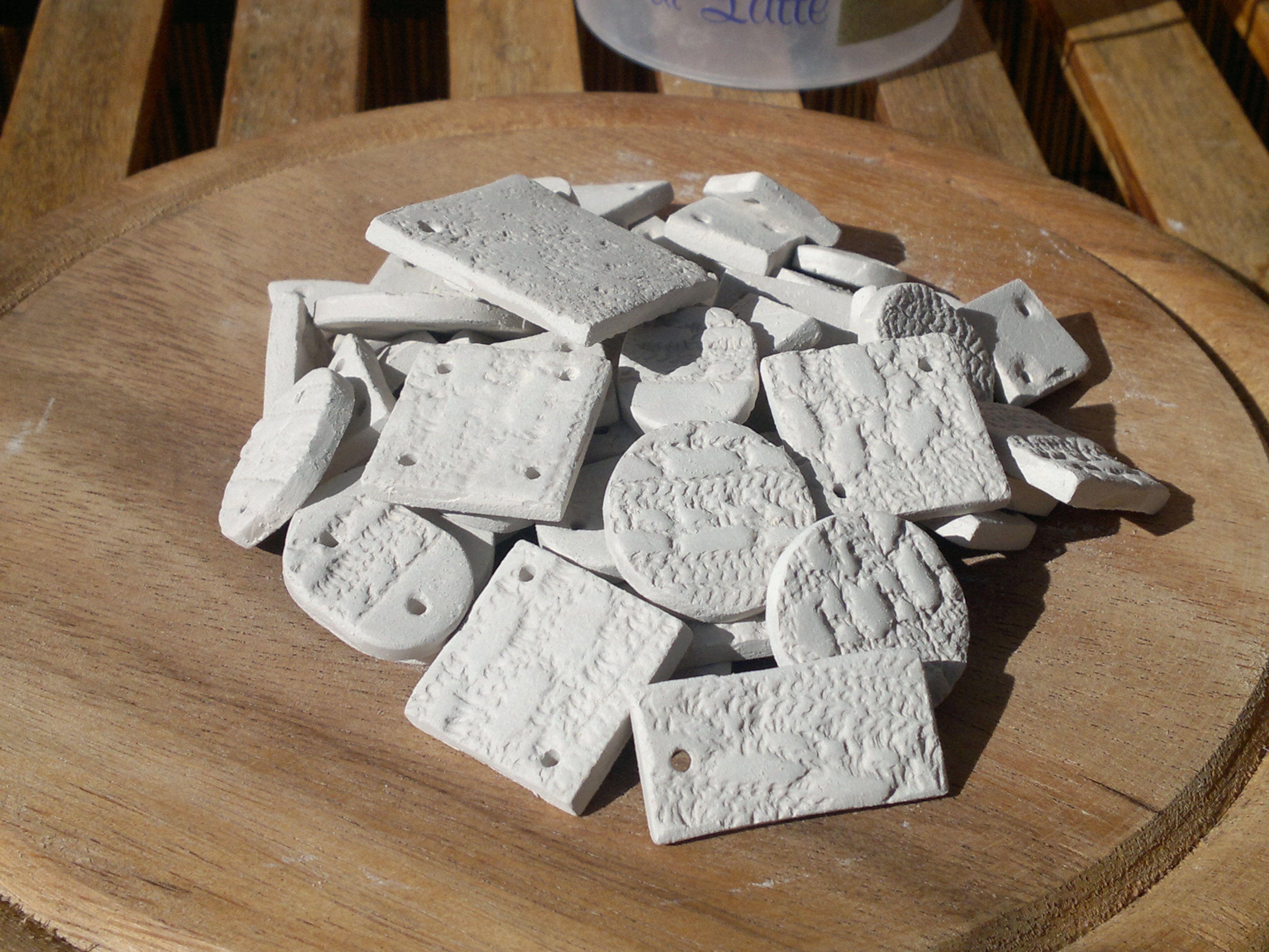 Componenti in argilla per bijoux