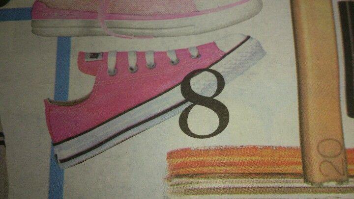 Zapatillas Converse en rosado
