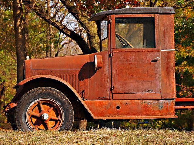 Camion de rouillés, Kansas City, Missouri