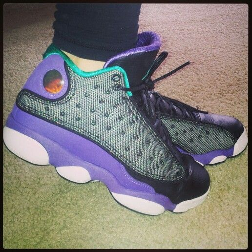 sale retailer d6f6b dfb44 Ultraviolet 13s. Grape 13s. Purple Teal Jordans | Sneakers ...
