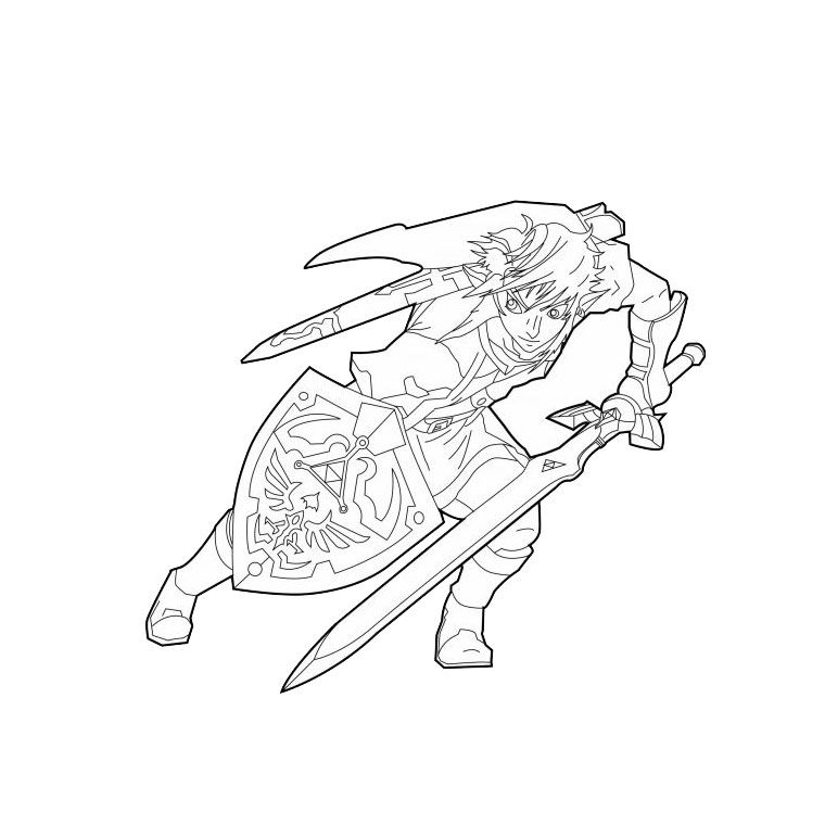 Coloriage 2 Dessin Zelda Coloriage Zelda Coloriage Coloriage