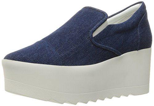9b003a2cf57cf KENDALL + KYLIE Women's Tanya2 Fashion Sneaker, Navy/White, 7.5 M US ...