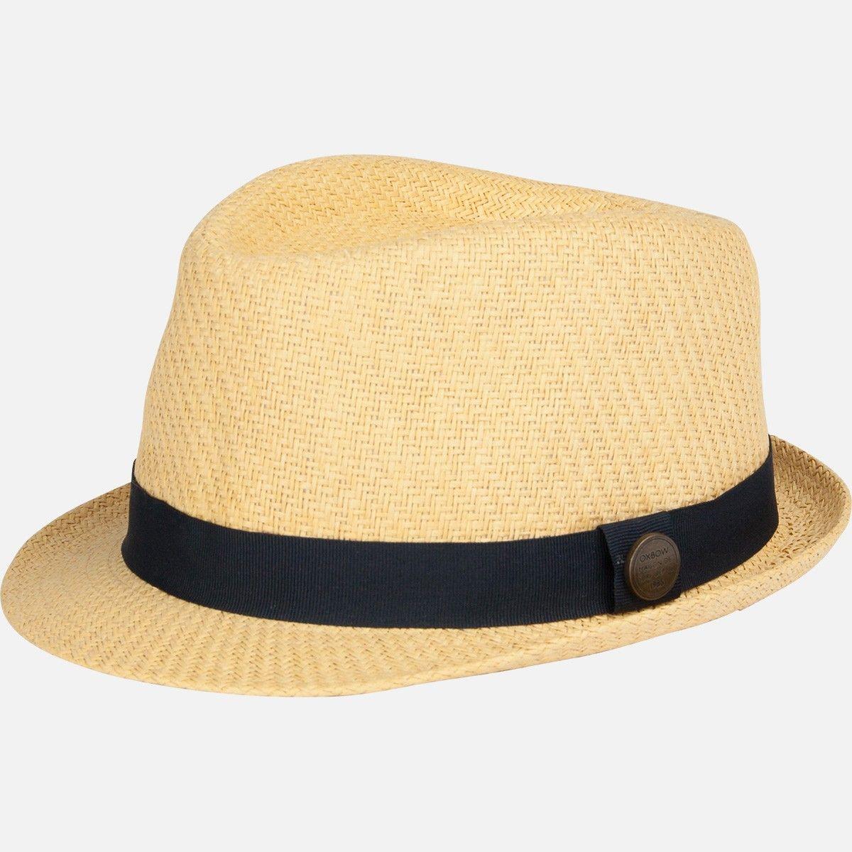 chapeau homme gom paille oxbow chapeaux de paille. Black Bedroom Furniture Sets. Home Design Ideas