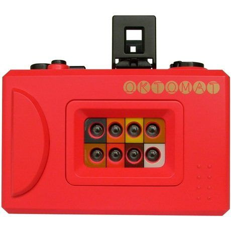 Poketo Oktomat Camera - I used to have one of these and it was so cool, except it was cheaply made and broke easily :/ awesome concept though!