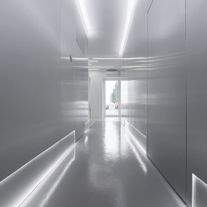 Dental Clinic by NAN Arquitectos, Pontevedra – Spain » Retail Design. Visit City Lighting Products! https://www.linkedin.com/company/city-lighting-products