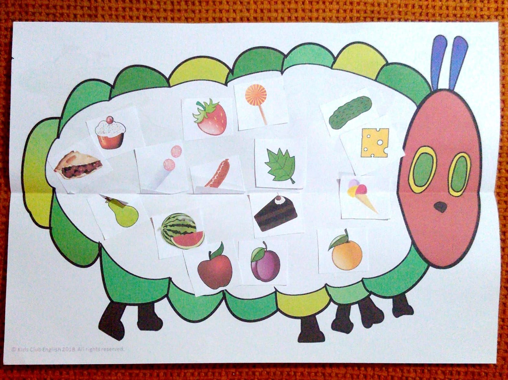 The Very Hungry Caterpillar Activity Pack Worksheets