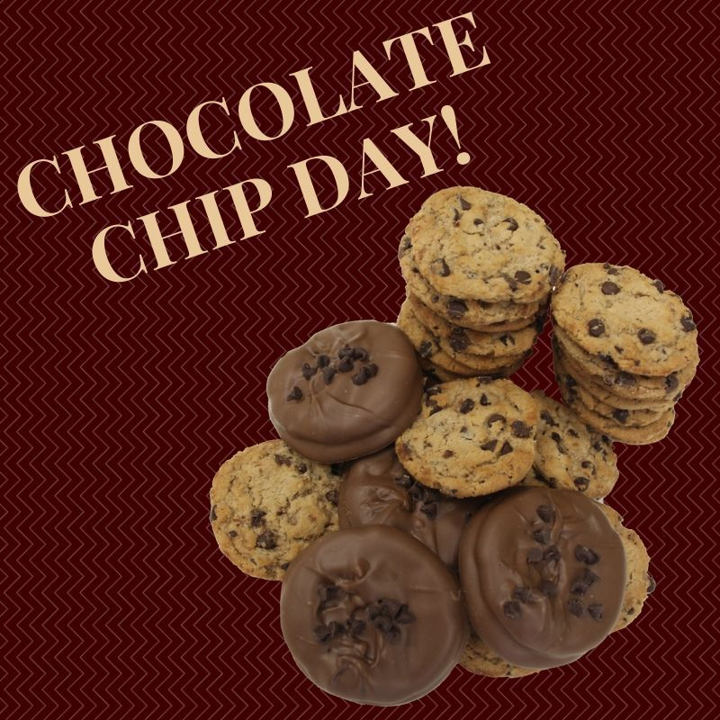 There S No Better Way To Spend National Chocolate Chip Day Than With Our Chocolate Dipped Chocolate National Chocolate Chip Day Chocolate Chip Chocolate Dipped