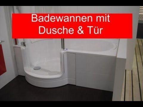Badewanne mit Tür und Badewanne mit Dusche. Für Bäder mit wenig ...   {Badewanne mit duschbereich 53}