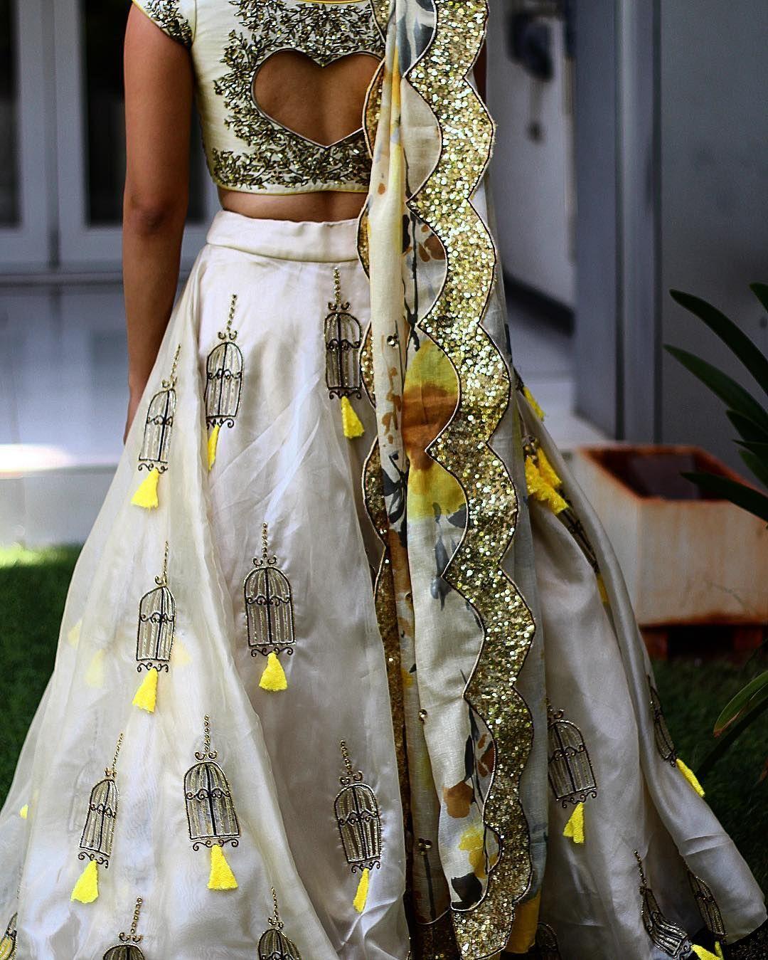 7d8b5463a41f1 P R I Y A N K A S H A H on Instagram Indian Designer Wear
