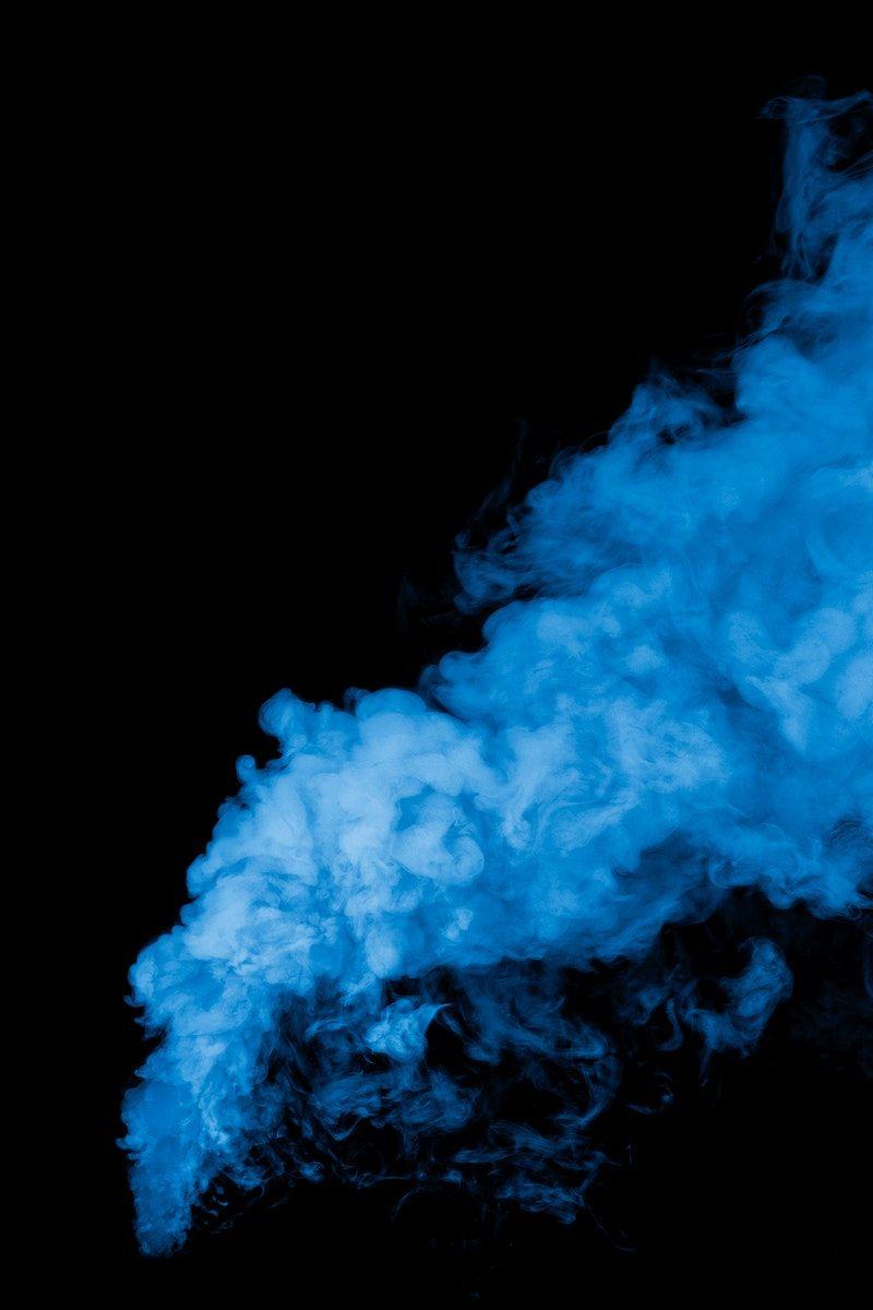Floating Blue Smoke Free Photoshop Overlays Smoke Wallpaper Field Wallpaper