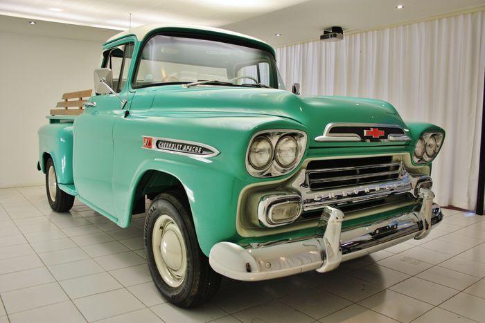 Chevrolet - 3100 Apache 1/2-Ton Stepside - 1959