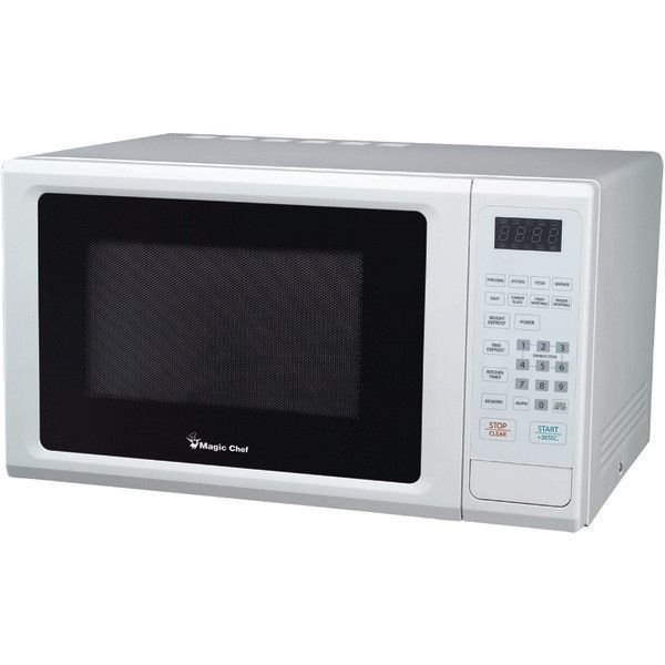 Magic Chef Mcm1110w 1 1 Cubic Ft 1 000 Watt Microwave With
