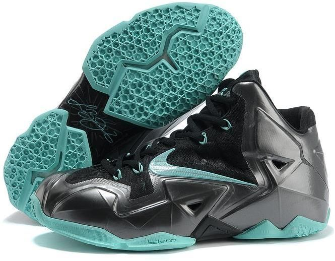 http://www.asneakers4u.com LeBron James XI Men Shoes in Black