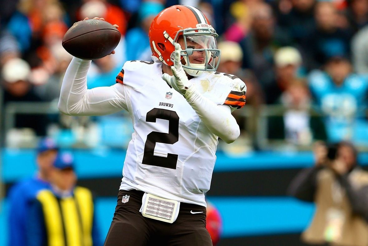 Johnny Manziel Placed on Injured Reserve with Hamstring