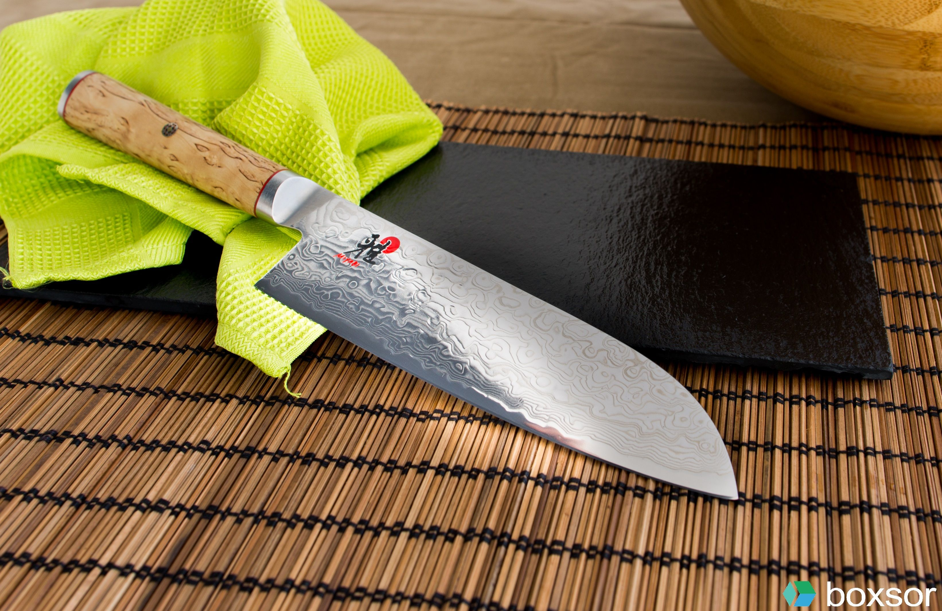 miyabi santoku mcd known for its versatility the three virtue knife can make easy work of meet fish and vegetables