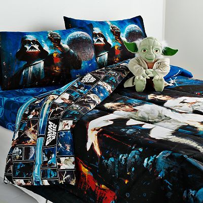 For my son's bed! But I cannot find the comforter, only sheets ...