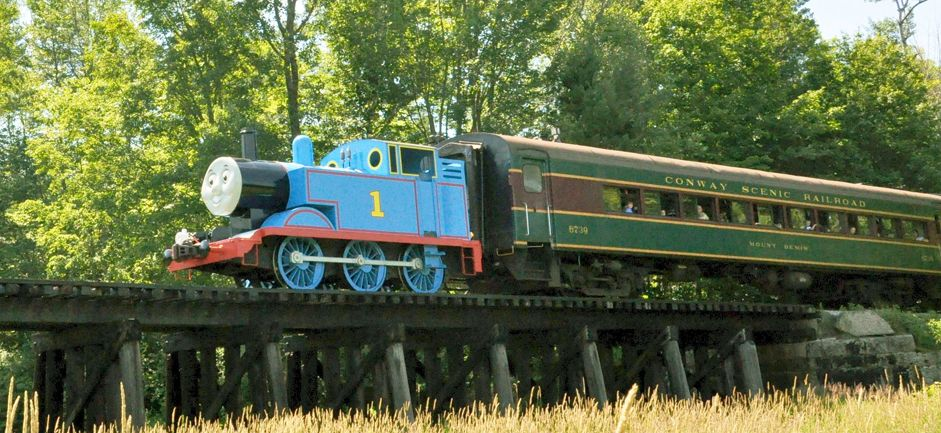 Day out with Thomas at the Conway Scenic Railway! | Scenic ...