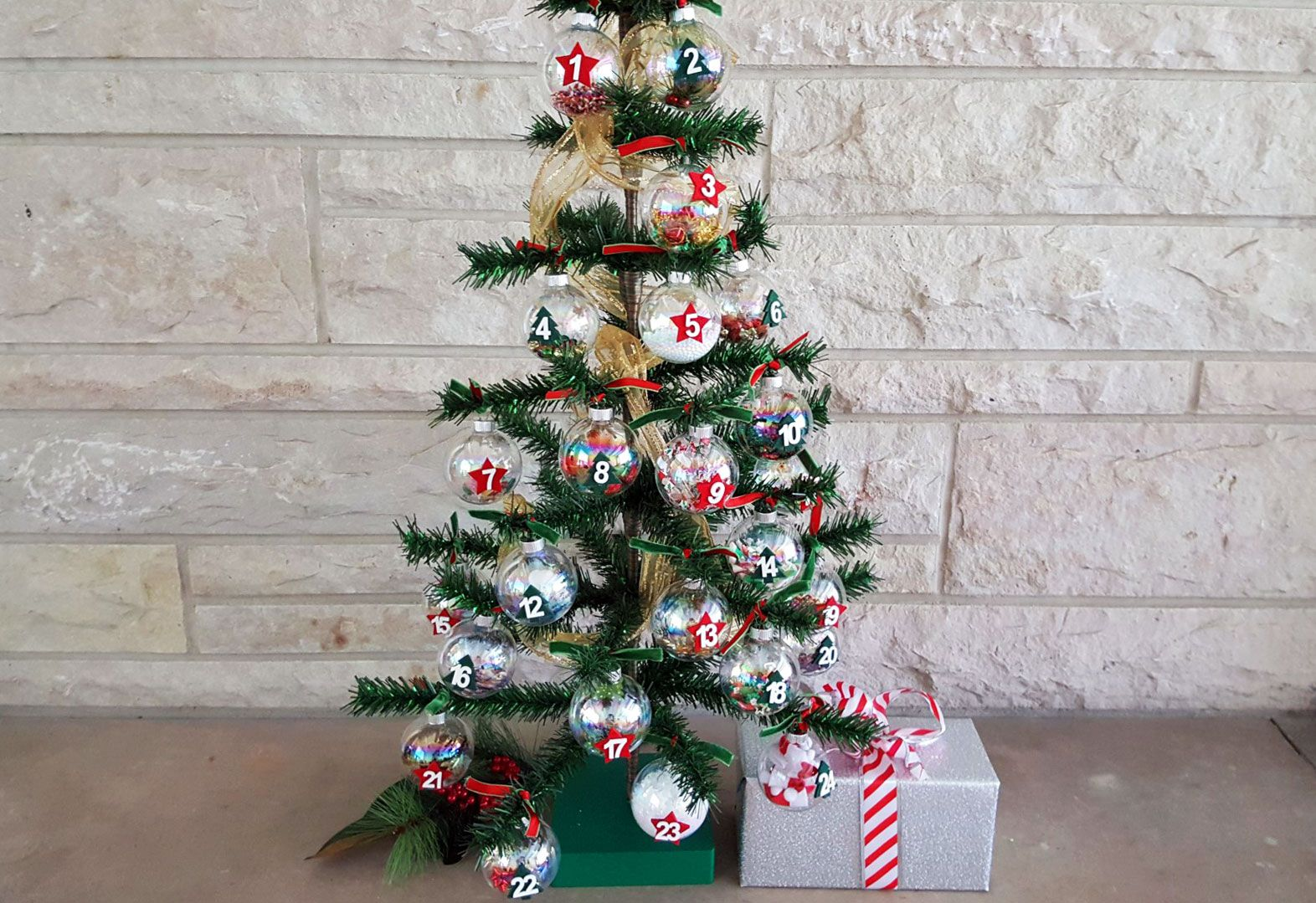 DIY Advent Ornaments - Countdown To Christmas (With images ...